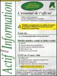 Actif information, n° 361-362 - janvier-février 2020 - L'évaluation des RPS dans les structures sanitaires et sociales de moins de 50 salariés