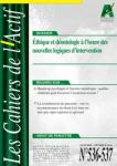 Cahiers de l'Actif (Les), n° 536-537 - janvier-février 2021 - Conflits éthiques et nouvelles logiques d'intervention
