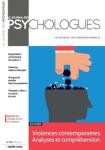 Journal des psychologues (Le), n° 387 - mai 2021 - Violences contemporaines. Analyses et compréhension